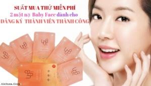 Suất Free 3 mặt nạ nâng cơ Hàn Quốc- UGB Baby Face